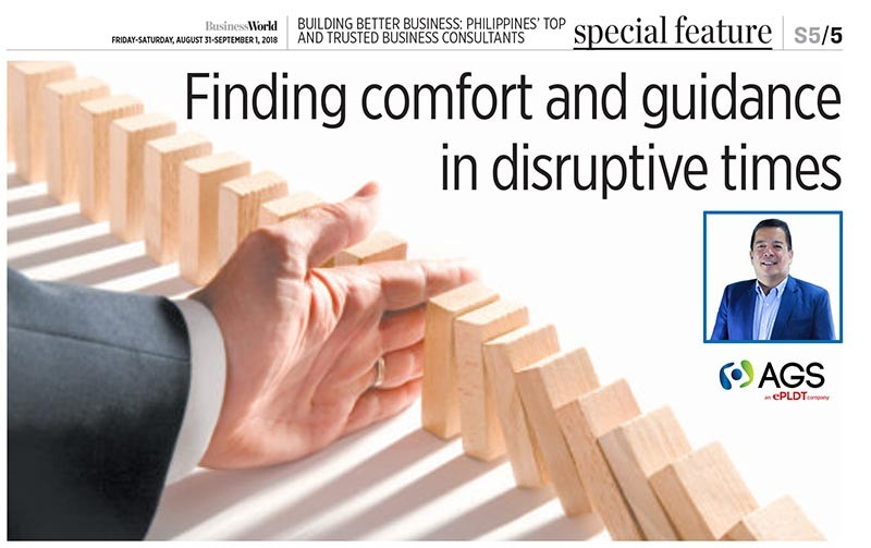 Finding comfort and guidance in disruptive times
